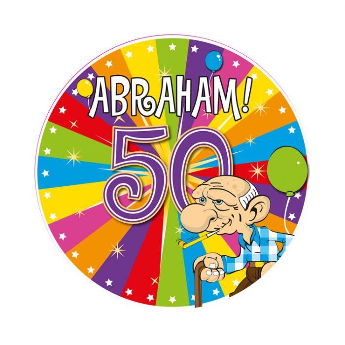 verjaardagstekst 50 jaar Abraham