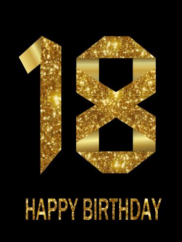 18 jaar happy birthday verjaardagswens