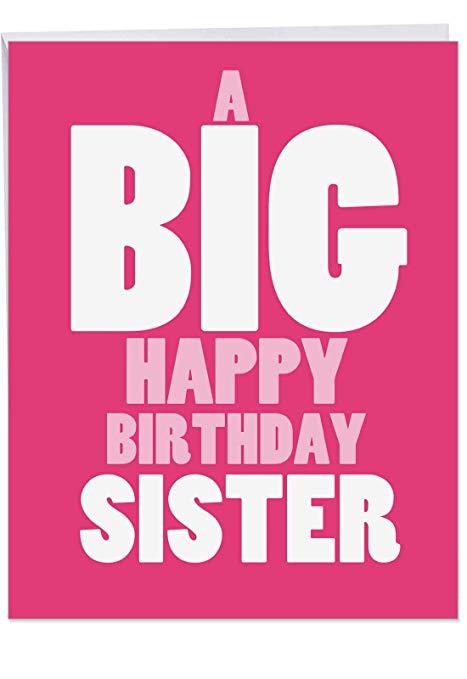 verjaardag zus kaartje