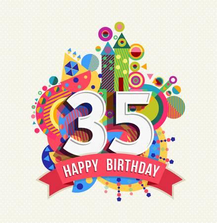 leuke verjaardagswens 35 jaar